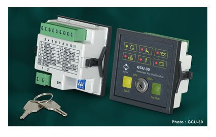 GCU-30 Manual Key Start Genset Control Unit
