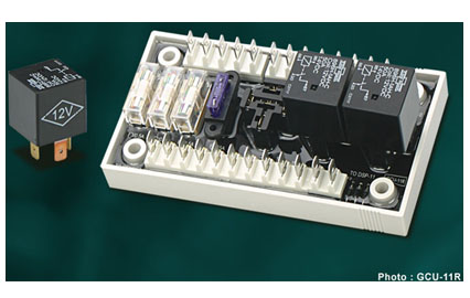 GCU-11R Relay Module for GCU-10 and DSP-10