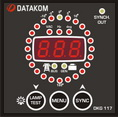 Datakom DKG 117 Synchroscope and Check Synch Relay
